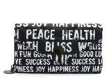 LE PANDORINE Leslie Wallet Happiness Portafoglio Black AI20DBU02636-01