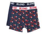 BLEND Boxer Natale 2 Pack Blu 20707337